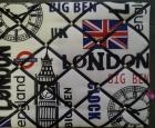 Memobord Londen