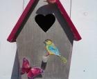 Voorbeeld Vrolijk Vogelhuisje pimpen