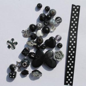 DIY Armbandje zwart