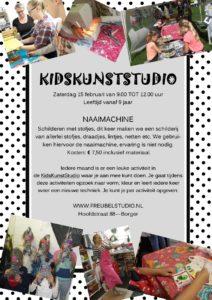 Workshop naaimachine voor jongeren