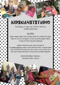Workshop vilten voor kinderen