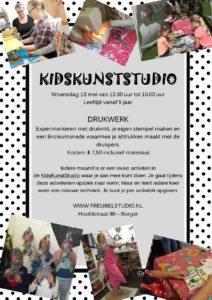 workshop druktechnieken voor kinderen