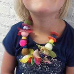 Voorbeeld Kinderfeestje kralen vilten