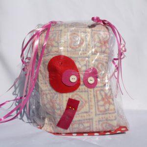 DIY Knuffel Lila-Roze