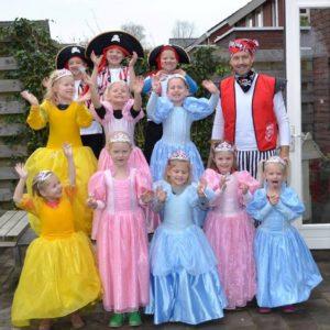 Prinsessenkleding in de themakist Prinsessenkist