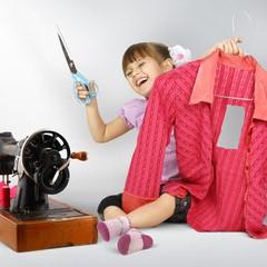 Workshops voor kinderen - Naailes